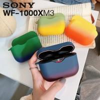 เคส Sony WF-1000XM3 Gradient Two-tone Earphone Protective Case