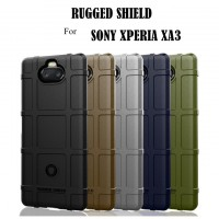 เคส SONY Xperia 10 Rugged Shield Square Grid TPU Case
