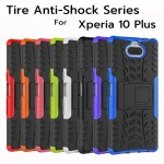 เคส SONY Xperia 10 Plus Tire Anti-Shock Armor Case