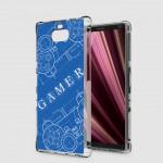 เคส SONY Xperia 10 Plus (10+) Anti-Shock Protection TPU Case [Gamer Illustration Blue]