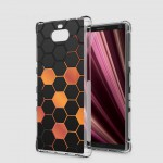 เคส SONY Xperia 10 Plus (10+) Polygon Series 3D Anti-Shock Protection TPU Case [PG002]