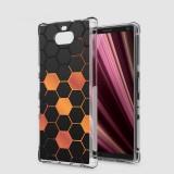 เคส SONY Xperia 10 Plus (10+) Polygon Series 3D Anti-Shock Protection TPU Case [PG002]