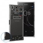 เคส SONY Xperia XZ1 [Explorer Series] 3D Anti-Shock Protection TPU Case [Transparent]