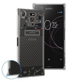 เคส SONY Xperia XZ1 [Explorer Series] 3D Anti-Shock Protection TPU Case [Transparent]