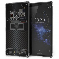 เคส SONY Xperia XZ2 [Explorer Series] 3D Anti-Shock Protection TPU Case [Translucent]