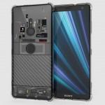 เคส SONY Xperia XZ3 [Explorer Series] 3D Anti-Shock Protection TPU Case [Transparent]