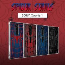 เคส SONY Xperia 1 Spider Series 3D Anti-Shock Protection TPU Case