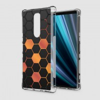 เคส SONY Xperia 1 Polygon Series 3D Anti-Shock Protection TPU Case [PG002]