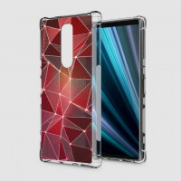 เคส SONY Xperia 1 Polygon Series 3D Anti-Shock Protection TPU Case [PG004]
