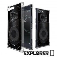 เคส SONY Xperia XZ Premium [Explorer II Series] 3D Anti-Shock Protection TPU Case