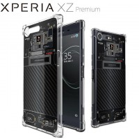 เคส SONY Xperia XZ Premium [Explorer Series] 3D Anti-Shock Protection TPU Case [Translucent]