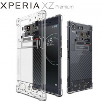 เคส SONY Xperia XZ Premium [Explorer Series] 3D Anti-Shock Protection TPU Case [Transparent]