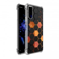 เคส SONY Xperia 10 II Polygon Series 3D Anti-Shock Protection TPU Case [PG002]