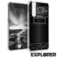 เคส Vivo V15 Pro [Explorer Series] 3D Anti-Shock Protection TPU Case