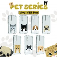 เคส Vivo V15 Pro Pet Series Anti-Shock Protection TPU Case