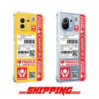 เคส Xiaomi Mi 11 Lite Shipping Series 3D Anti-Shock Protection TPU Case