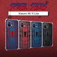 เคส Xiaomi Mi 11 Lite Spider Series 3D Anti-Shock Protection TPU Case