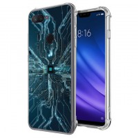 เคส Xiaomi Mi 8 Lite Digital Series 3D Anti-Shock Protection TPU Case [DG002]
