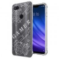 เคส Xiaomi Mi 8 Lite Anti-Shock Protection TPU Case [Gamer Illustration]