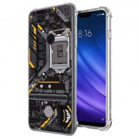 เคส Xiaomi Mi 8 Lite Anti-Shock Protection TPU Case [Gaming Board]