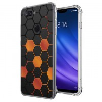เคส Xiaomi Mi 8 Lite Polygon Series 3D Anti-Shock Protection TPU Case [PG002]