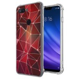 เคส Xiaomi Mi 8 Lite Polygon Series 3D Anti-Shock Protection TPU Case [PG004]