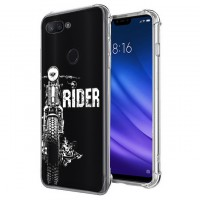 เคส Xiaomi Mi 8 Lite Anti-Shock Protection TPU Case [Rider]