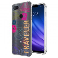 เคส Xiaomi Mi 8 Lite Anti-Shock Protection TPU Case [TRAVELER]