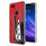 เคส Xiaomi Mi 8 Lite War Series 3D Anti-Shock Protection TPU Case [WA002]