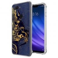 เคส Xiaomi Mi 8 Lite Forbidden City Series 3D Anti-Shock Protection TPU Case [FC001]