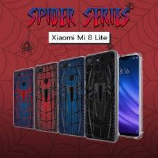 เคส Xiaomi Mi 8 Lite Spider Series 3D Anti-Shock Protection TPU Case
