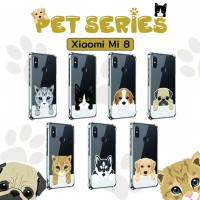 เคส Xiaomi Mi 8 [Pet Series] Anti-Shock Protection TPU Case