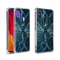 เคส Xiaomi Mi 8 Digital Series 3D Anti-Shock Protection TPU Case [DG002]