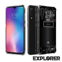 เคส Xiaomi Mi 9 SE [Explorer Series] 3D Anti-Shock Protection TPU Case