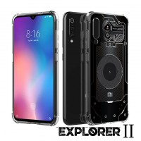 เคส Xiaomi Mi 9 SE [Explorer II Series] 3D Anti-Shock Protection TPU Case