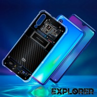 เคส Xiaomi Mi 9 [Explorer Series] 3D Anti-Shock Protection TPU Case