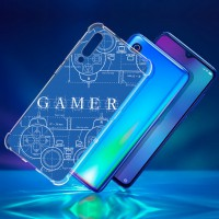 เคส Xiaomi Mi 9 Anti-Shock Protection TPU Case [Gamer Illustration Blue]