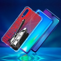 เคส Xiaomi Mi 9 War Series 3D Anti-Shock Protection TPU Case [WA002]