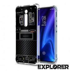 เคส Xiaomi Mi 9T / Redmi K20 / Pro [Explorer Series] 3D Anti-Shock Protection TPU Case