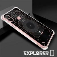 เคส Xiaomi Mi A2 [Explorer II Series] 3D Anti-Shock Protection TPU Case