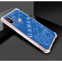 เคส Xiaomi Mi A2 Anti-Shock Protection TPU Case [Gamer Illustration Blue]