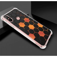 เคส Xiaomi Mi A2 Polygon Series 3D Anti-Shock Protection TPU Case [PG002]