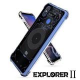 เคส Xiaomi Mi Max 3 [Explorer II Series] 3D Anti-Shock Protection TPU Case