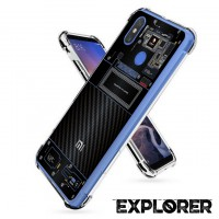 เคส Xiaomi Mi Max 3 [Explorer Series] 3D Anti-Shock Protection TPU Case