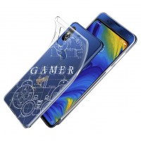 เคส Xiaomi Mi Mix 3 Protection TPU Case [Gamer Illustration]