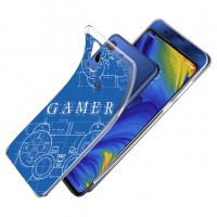 เคส Xiaomi Mi Mix 3 Protection TPU Case [Gamer Illustration Blue]