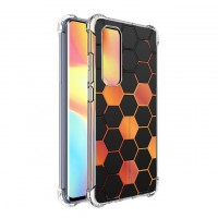 เคส Xiaomi Mi Note 10 Lite Polygon Series 3D Anti-Shock Protection TPU Case [PG002]