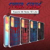 เคส Xiaomi Mi Note 10 Lite Spider Series 3D Anti-Shock Protection TPU Case
