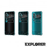 เคส Xiaomi Mi Note 10 / 10 Pro / CC9 Pro [Explorer Series] 3D Anti-Shock Protection TPU Case