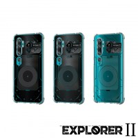 เคส Xiaomi Mi Note 10 / 10 Pro / CC9 Pro [Explorer II Series] 3D Anti-Shock Protection TPU Case